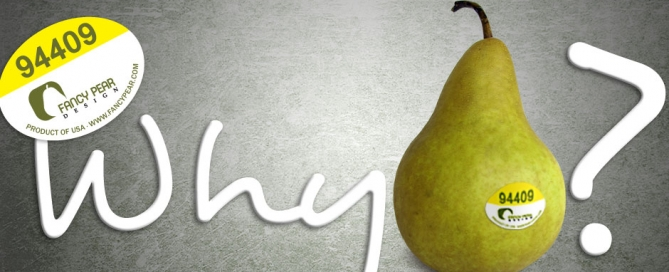 "About the Name ""Fancy Pear Design"""