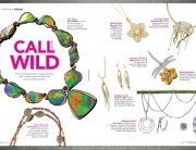 fashion magazine layout design-jewelry